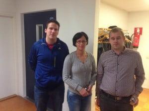 Petri Viljanen, Katri Juhola, Santeri Salonen